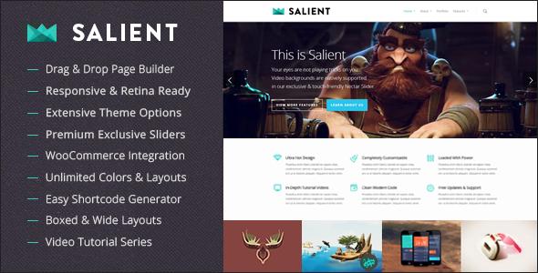 Salient Responsive Multi-Purpose Wordpress Theme v5.5.4