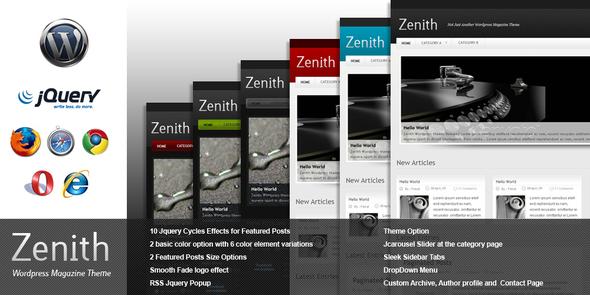 Zenith - Wordpress :: Themeforest