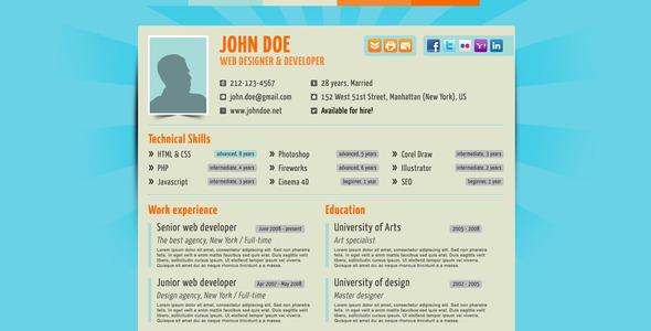 your no1 resume bonus iphone pdf theme html