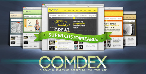 comdex clean and modern website template html others
