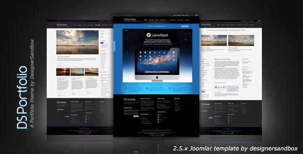 DS Portfolio Joomla! Templates - Mobile Ready - Joomla :: Themeforest
