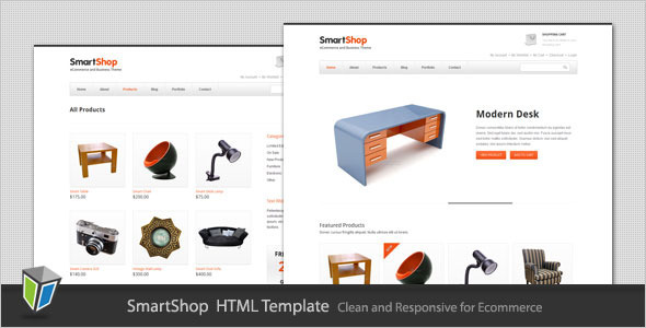 SmartShop - Responsive ECommerce HTML Template - HTML & Others ...