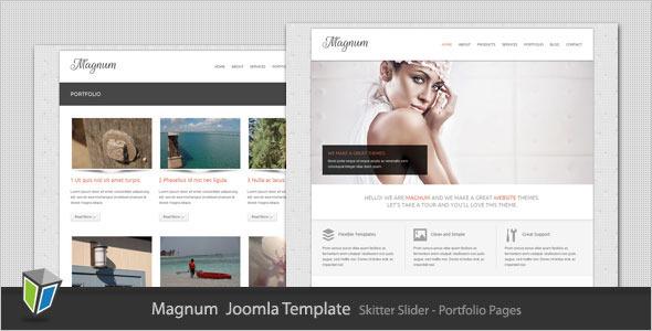 Magnum - Business and Portfolio Joomla Template - Joomla :: Themeforest