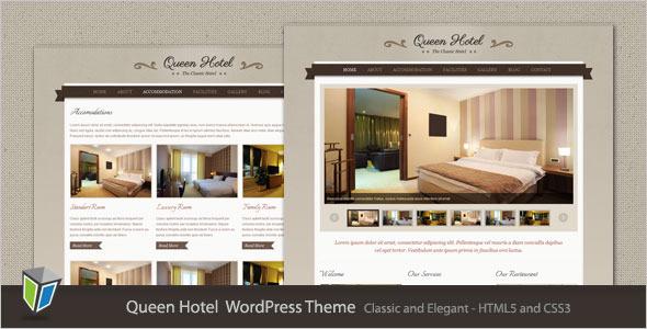 Queen Hotel - Classic and Elegant WordPress Theme - Wordpress ...