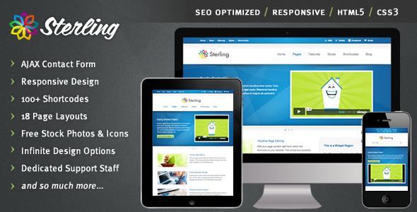 responsive web template