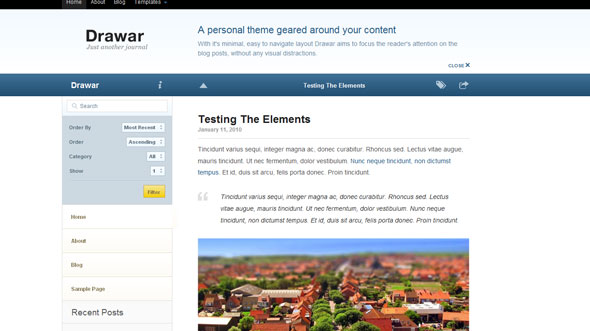 Drawar - WooThemes Premium Wordpress Theme - Wordpress :: WooThemes