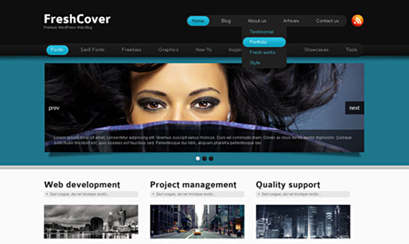 FreshCover - Dreamtemplate XHTML Template - HTML & Others :: Dream ...