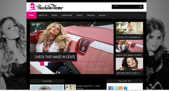 Fashion - ThemesDesk Wordpress Template - Wordpress :: Themesdesk