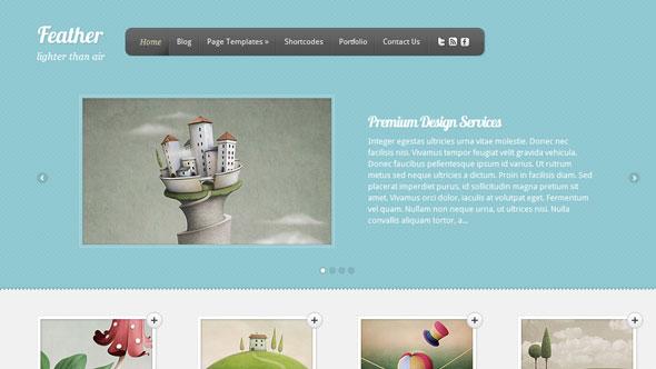 Feather ElegantThems WordPress Theme - Wordpress :: ElegantThemes