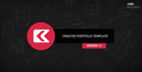 kronos creative portfolio themeforest template html others