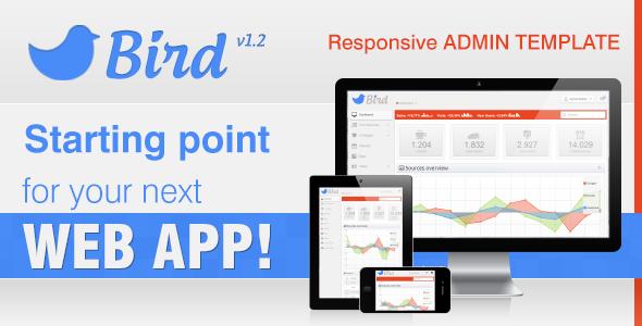 ubold responsive web app kit admin templates site templates. bird ...