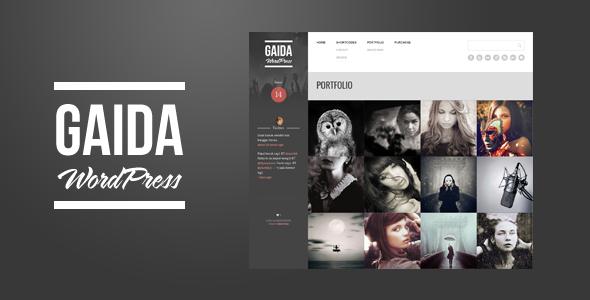 Gaida - Responsive Portfolio WordPress Theme - Wordpress :: Themeforest