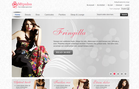 MT Pulsa - 9MagentoThemes Fashion Magento Template - Magento ...