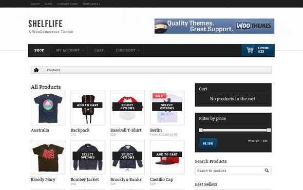 Shelflife - WooThemes Premium WP Theme - Wordpress :: WooThemes