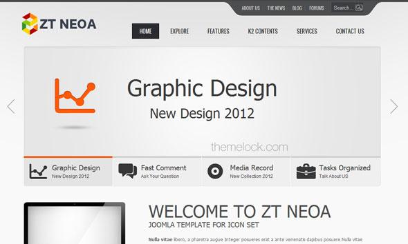 ZT Neoa - ZooTemplate Joomla 2.5 Template - Joomla :: ZooTemplate
