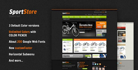Download Free OPENCART Themes & Templates, Scripts