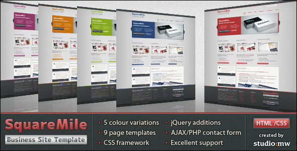 Squaremile themeforest business portfolio html template html squaremile themeforest business portfolio html template cheaphphosting Image collections