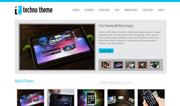 Tech Theme - ThemesDesk Wordpress Template - Wordpress :: Themesdesk