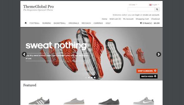 THEMEGLOBAL PRO OpenCart! Template - Opencart :: ThemeGlobal