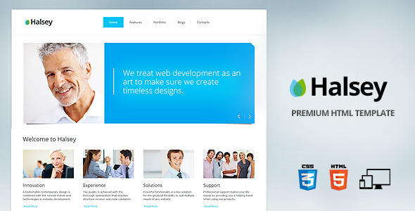 Halsey premium corporate template html others themeforest halsey premium corporate template accmission Choice Image