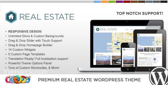 WP Pro Real Estate 3 Responsive Themeforest WordPress Theme ...