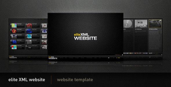 ActiveDen - Elite Xml Website - Flash :: ActiveDen