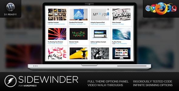 SideWinder for WordPress - Dynamic Grid Portfolio - Wordpress ...