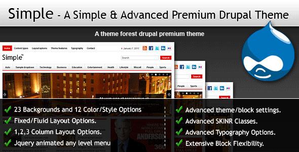 drupal premium themes free download