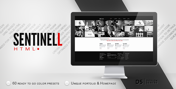 Sentinell v1 1 – ThemeForest HTML Template - HTML & Others