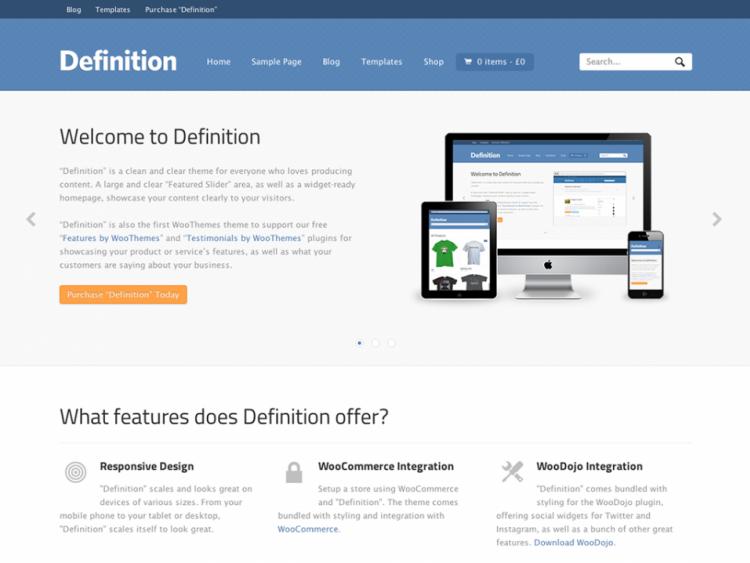 Definition v1.3.3 – Woothemes WordPress Theme - Wordpress :: WooThemes