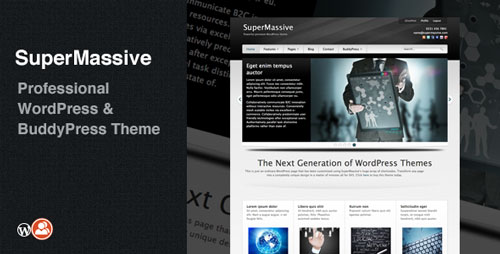 SuperMassive v4.5 Professional WordPress/BuddyPress Theme ...