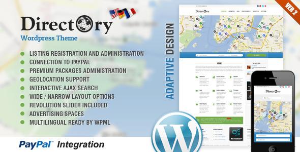 Directory Portal Wordpress Theme - Wordpress :: Themeforest