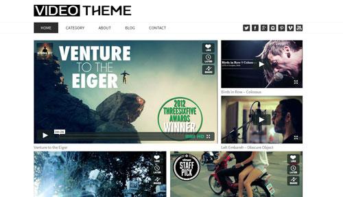 Video Theme - Dessign.net Wordpress Theme - Wordpress :: Other